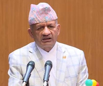 Minister for Foreign Affairs Pradeep Gyawali.