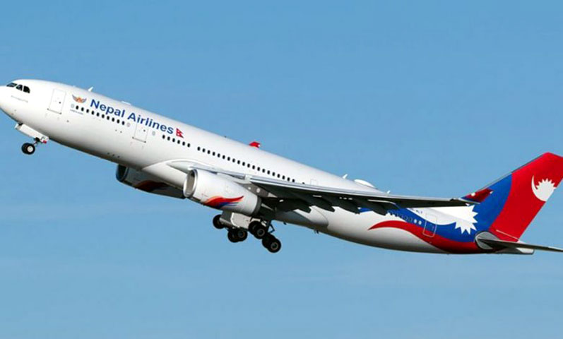Nepal Airlines aircraft