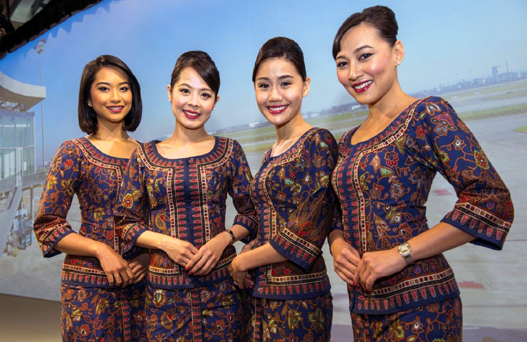 Singapore Airlines' crew.Photo: Singapore Airlines