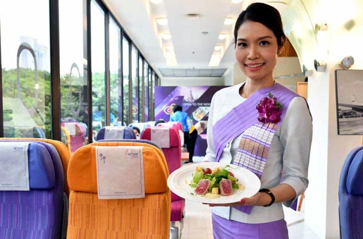 Images: Thai Airways, Twitter