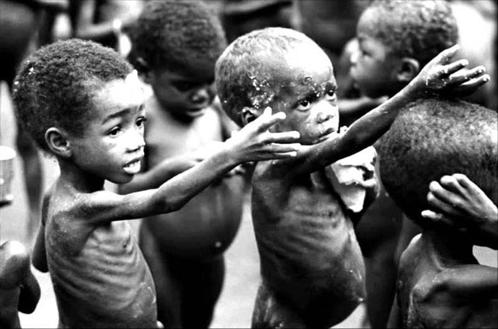 UN estimates ending world hunger will cost US $ 267 billion per year. Daily Sabah Photo