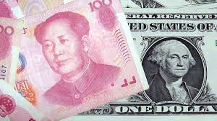 Chinese Yuan and US Dollar. Image: russia-briefing.com