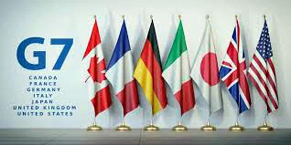 Flags of G7 nations. moneytaskforce.com