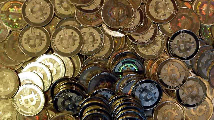 Bitcoin Photo: AP file photo